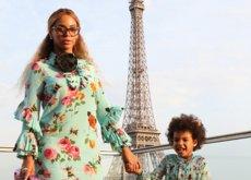Beyoncé regala a Gucci la mejor campaña con su hija Blue Ivy. La moda de vestir igual que tu pequeña ya está aquí