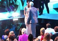 Pero... ¿y esos besos entre Rihanna y Chris Brown en los VMA?
