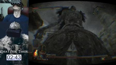 Alguien se atrevió a terminar Dark Souls II con Oculus Rift