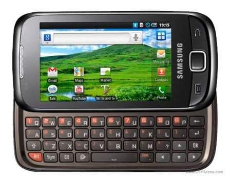 Samsung Galaxy 551, el teclado QWERTY llega a la gama media