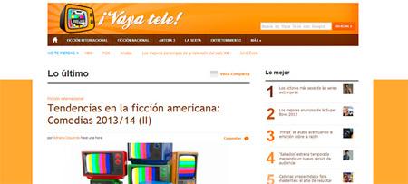 Estrenamos nuevo diseño en ¡Vaya Tele!