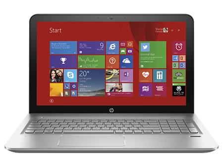 Hp Envy 2015 Notebooks Frontal
