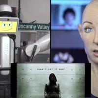 Ponen dos robots a ver el tráiler de una película de terror, y así reaccionan