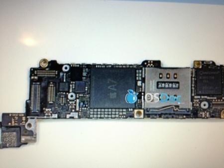 Presuntas fotos filtradas del iPhone 5S con un procesador A7