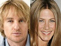 Owen Wilson y Jennifer Aniston adoptan un perro