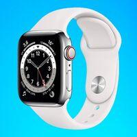Amazon tiene el Apple Watch Series 6 de acero con LTE más barato que nunca: en blanco y en 40mm lo tienes por 652 euros