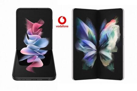 Precios Samsung Galaxy Z Fold3 y Z Flip3 con tarifas Vodafone y ahorro de hasta 207 euros