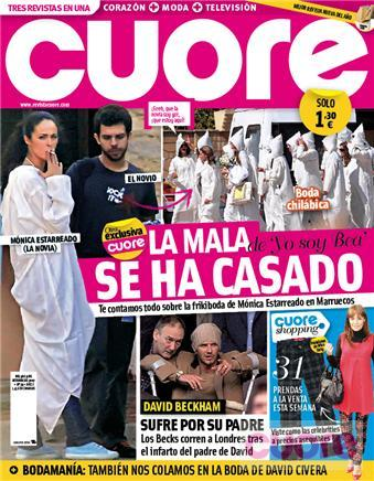 Mónica Estarreado se ha casado en Marruecos
