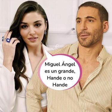 Hande Erçel, la prota de 'Love is in the air', reconoce que le encantaría trabajar con Miguel Ángel Silvestre: di que sí y, si es con escenas de acción, mucho mejor
