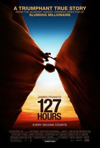'127 Hours', cartel y nuevo tráiler de lo último de Danny Boyle