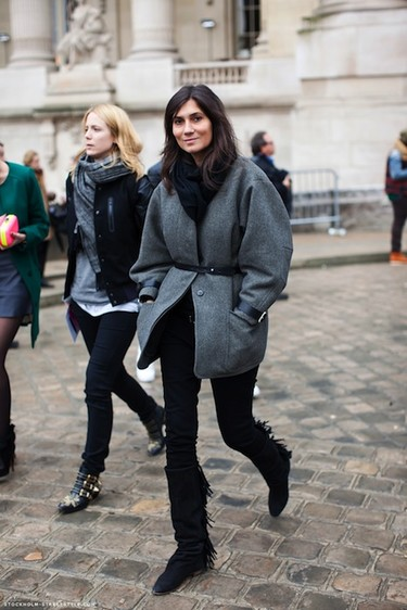Emmanuelle Alt viste de Prada... Pero también de Zara