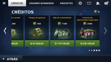 Moderm Combat 5 Creditos