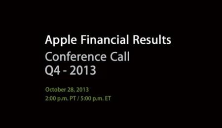 Apple celebrará su reunión de resultados financieros el 28 de octubre
