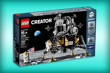 Set de LEGO con el NASA Apollo 11 Lunar Lander con 700 pesos de descuento en Amazon México y Walmart: su precio más bajo histórico