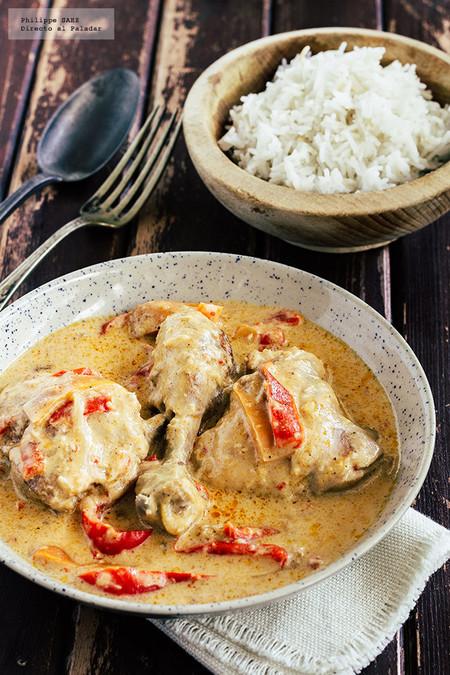 Pollo al coco estilo tailandés: receta con aires exóticos