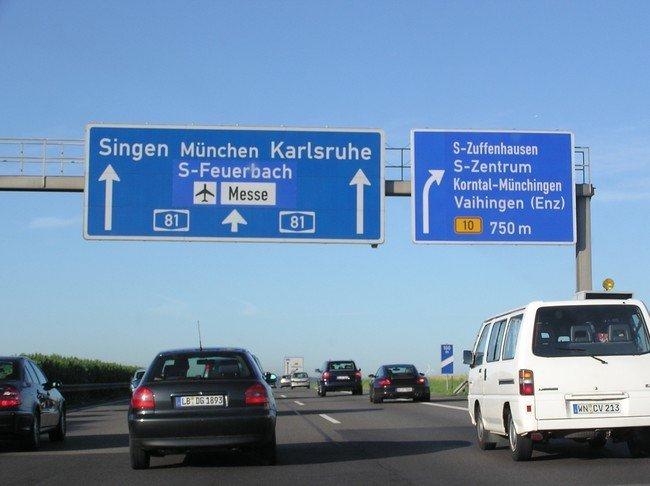 Autobahn Zuffenhausen