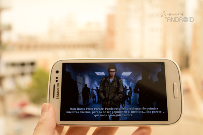 The Amazing Spiderman Galaxy SIII S3