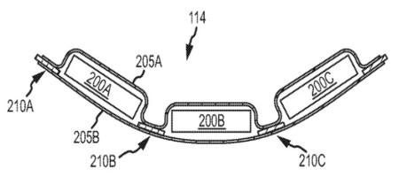 Apple tiene en la cabeza una batería flexible que por supuesto ya ha patentado