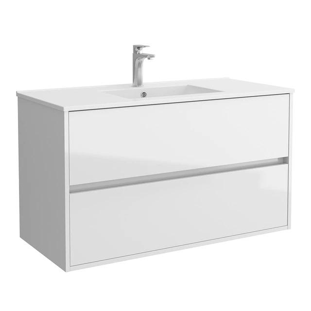 SALGAR Mueble de baño con lavabo y 2 cajones Noja Salgar