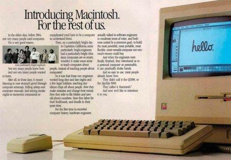 ¡Feliz 27 cumpleaños, Macintosh!