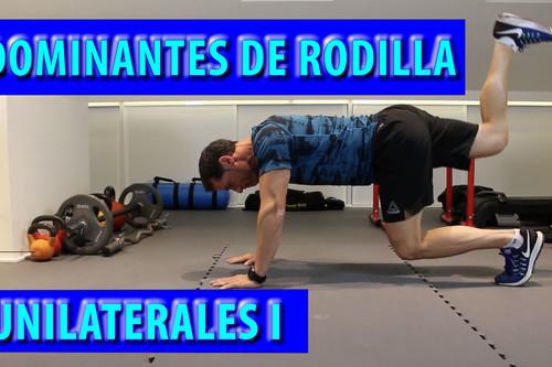 Cinco ejercicios de cuádriceps a una pierna (básicos y poco conocidos)
