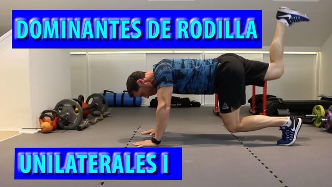 Dominantes Rodilla Unilaterales Vitonica