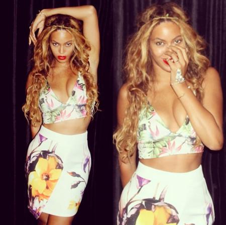 Beyonce Topshop look