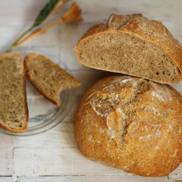 Receta de hogazas de pan de espelta caseras