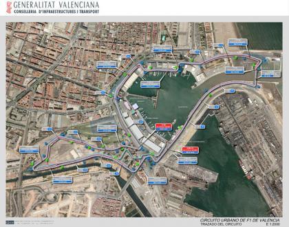 Las entradas para el Gran Premio de Europa en Valencia, a partir de febrero