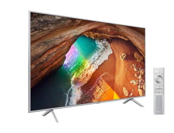 TV QLED Samsung QE65Q64T - UHD 4K, Dual LED HDR10+, Smart TV IA, Mega Contrast, Quantum Lite