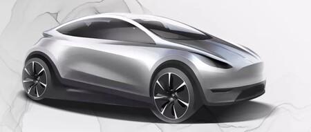Tesla Model 2 hatchback