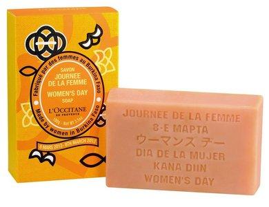 L'Occitane lanza el jabón solidario 2011 para el 8 de marzo, Día Internacional de la Mujer