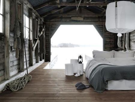 estilo decorativo Amish o natural