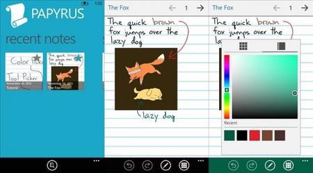 Papyrus llega a Windows Phone 8, una aplicación para aprovechar con el Nokia Lumia 1520