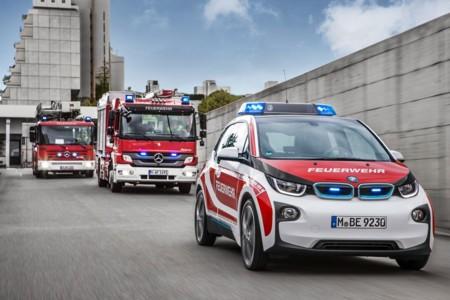 Algunos BMW i3 lo mismo te dan dinero que te apagan un fuego