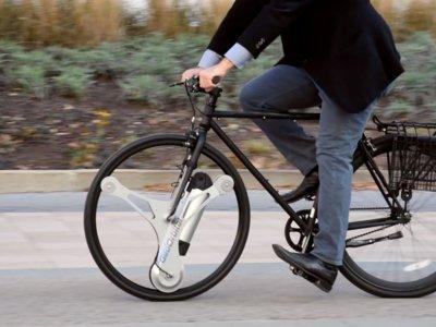 GeoOrbital Wheel, la rueda que ofrece transformar nuestra bici tradicional en eléctrica