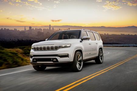 Jeep Grand Wagoneer Concept: un imponente SUV de siete plazas, 23 altavoces y la máxima expresión del lujo, según Jeep