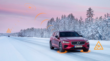 Los coches de Volvo se avisarán entre sí en tiempo real de los peligros que encuentren en la carretera