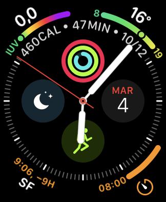 Esfera Apple Watch