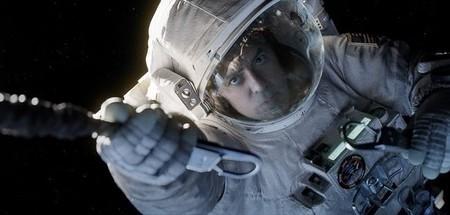 Clooney en Gravity