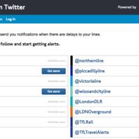 Twitter avisará por DM en caso de retrasos en el metro de Londres