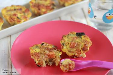 Tus hijos comerán mejor las verduras con estos muffins vegetales