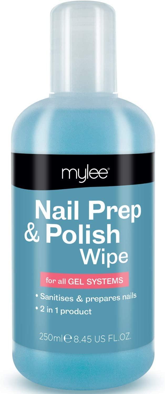 Mylee Prep + Wipe, Gel Limpiador de Residuos de Esmalte de Uñas de Gel