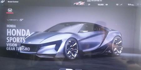 Se filtran las primeras imágenes del Honda Sports Vision Gran Turismo Concept