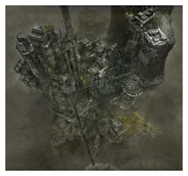 The Last Guardian Mapa 01