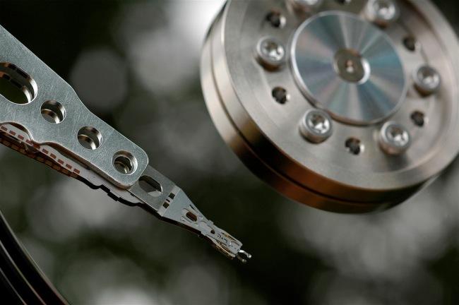 Cabezal de un disco duro