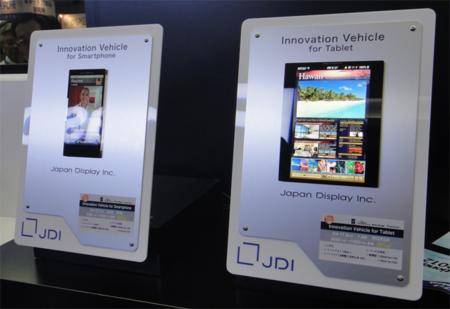 Japan Display nos enseña sus pantallas con tecnología WhiteMagic y Pixel Eyes