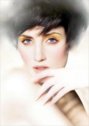 Shiseido apuesta por la sombra amarilla para el otoño invierno 2009/2010