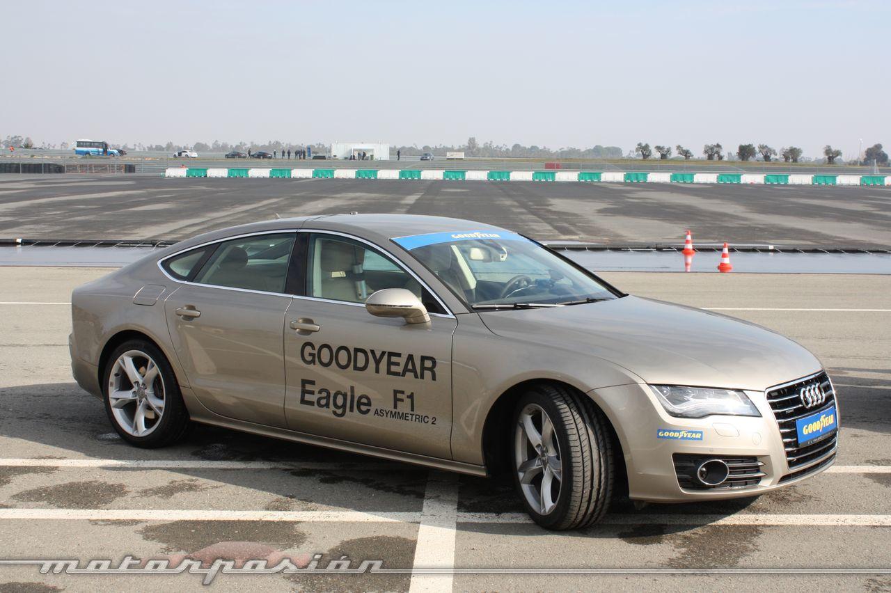 Foto de Goodyear Eagle F1: Audi TT RS, Audi A7 y Mercedes CLS (39/79)