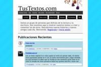 Tustextos.com, lugar de unión para los escritores amateurs